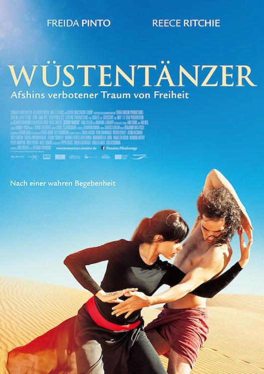 """Plakat von """"Wüstentänzer - Afshins verbotener Traum von Freiheit"""""""