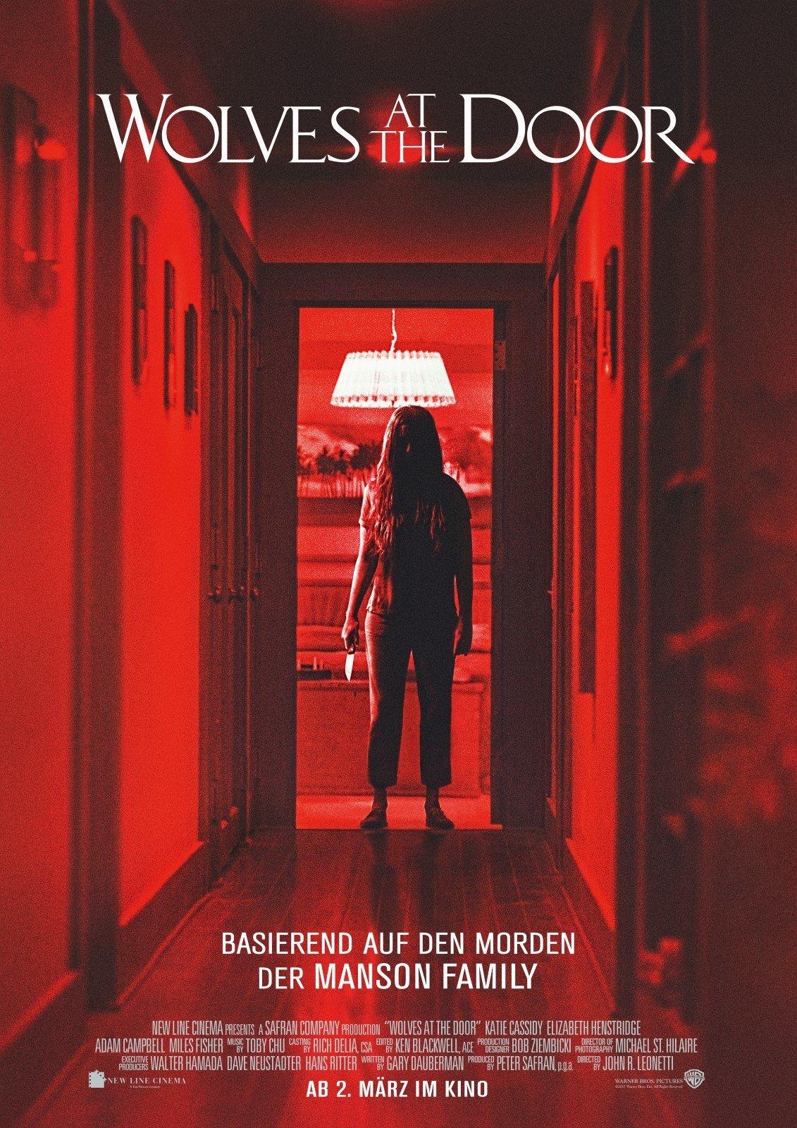 """Plakat von """"Wolves at the Door"""""""