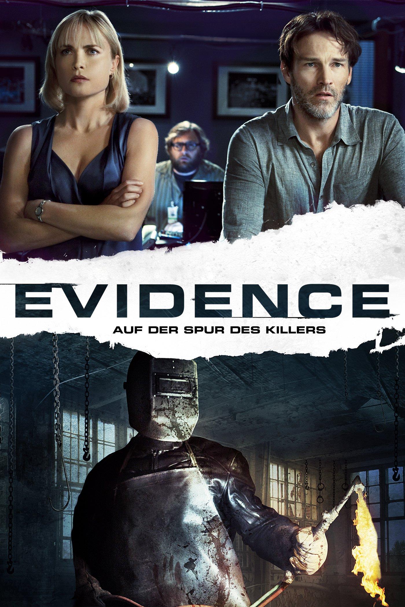 """Plakat von """"Evidence - Auf der Spur des Killers"""""""