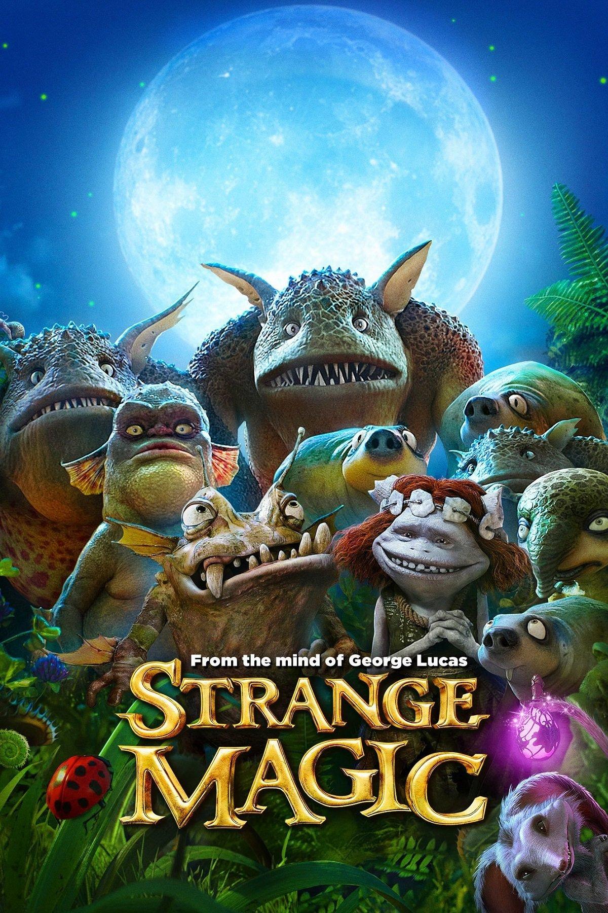 "Plakat von ""Strange Magic"""