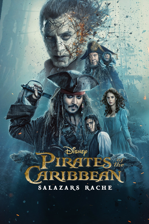 "Plakat von ""Pirates of the Caribbean: Salazars Rache"""