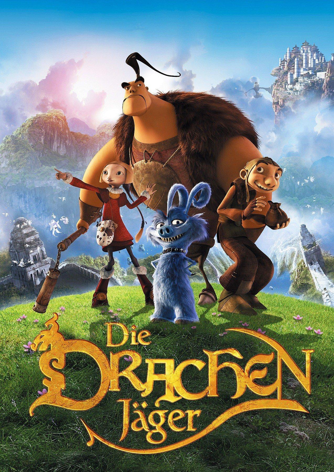 """Plakat von """"Die Drachenjäger"""""""
