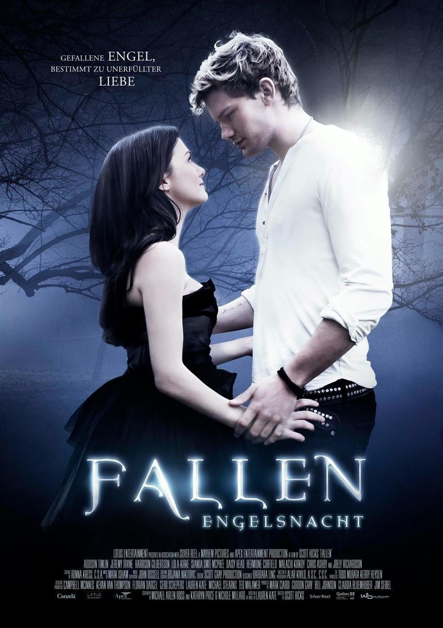 """Plakat von """"Fallen - Engelsnacht"""""""