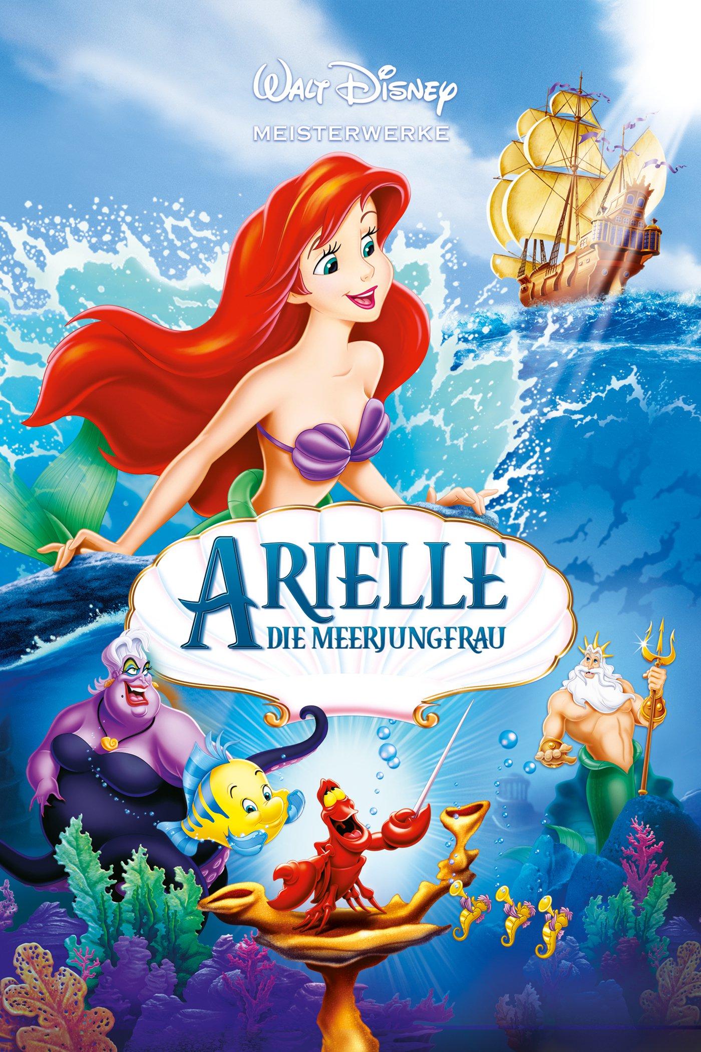 """Plakat von """"Arielle, die Meerjungfrau"""""""