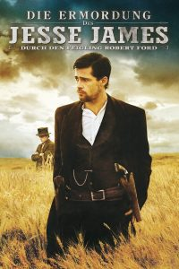 """Plakat von """"Die Ermordung des Jesse James durch den Feigling Robert Ford"""""""