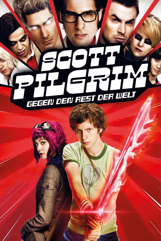 """Plakat von """"Scott Pilgrim gegen den Rest der Welt"""""""