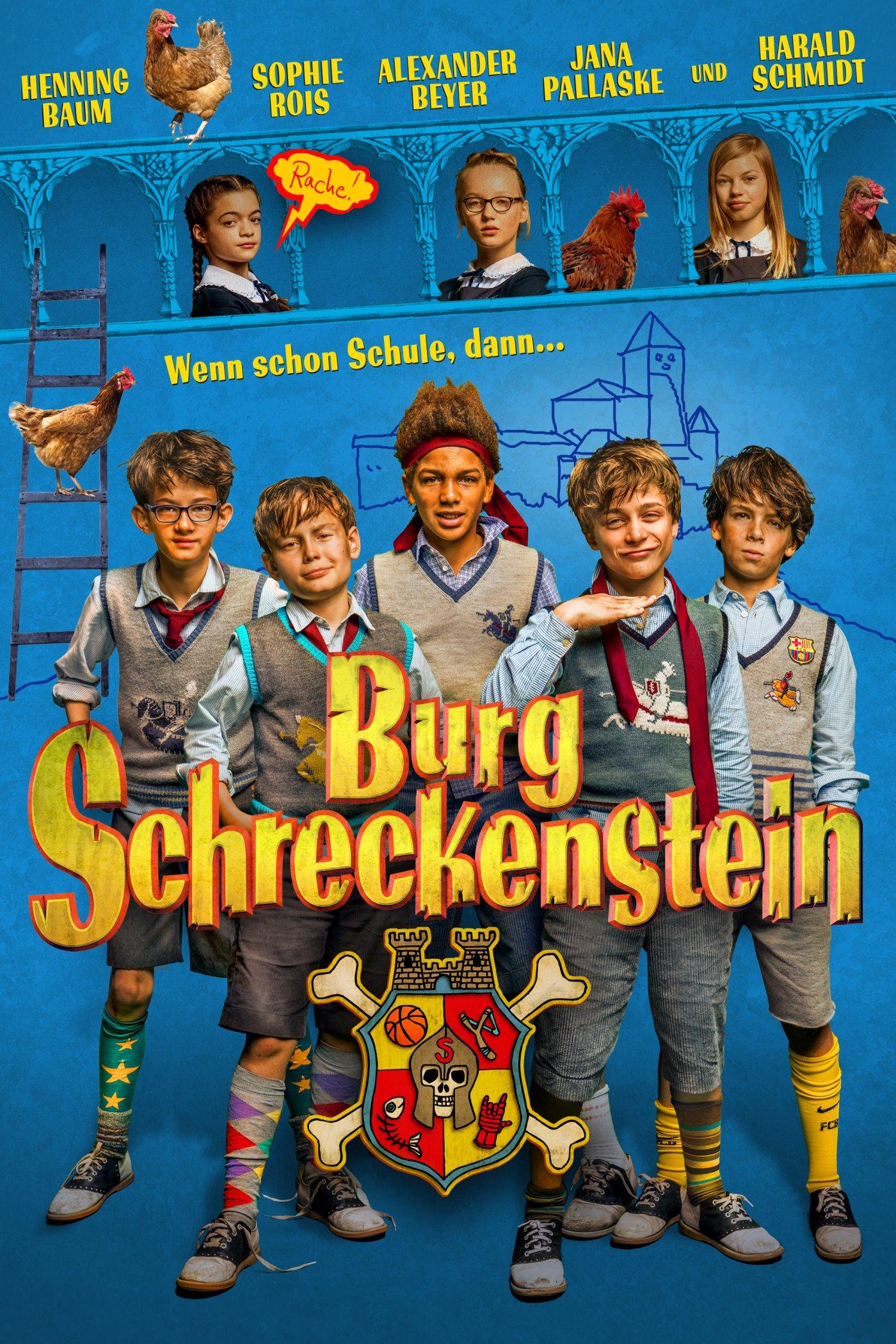 """Plakat von """"Burg Schreckenstein"""""""