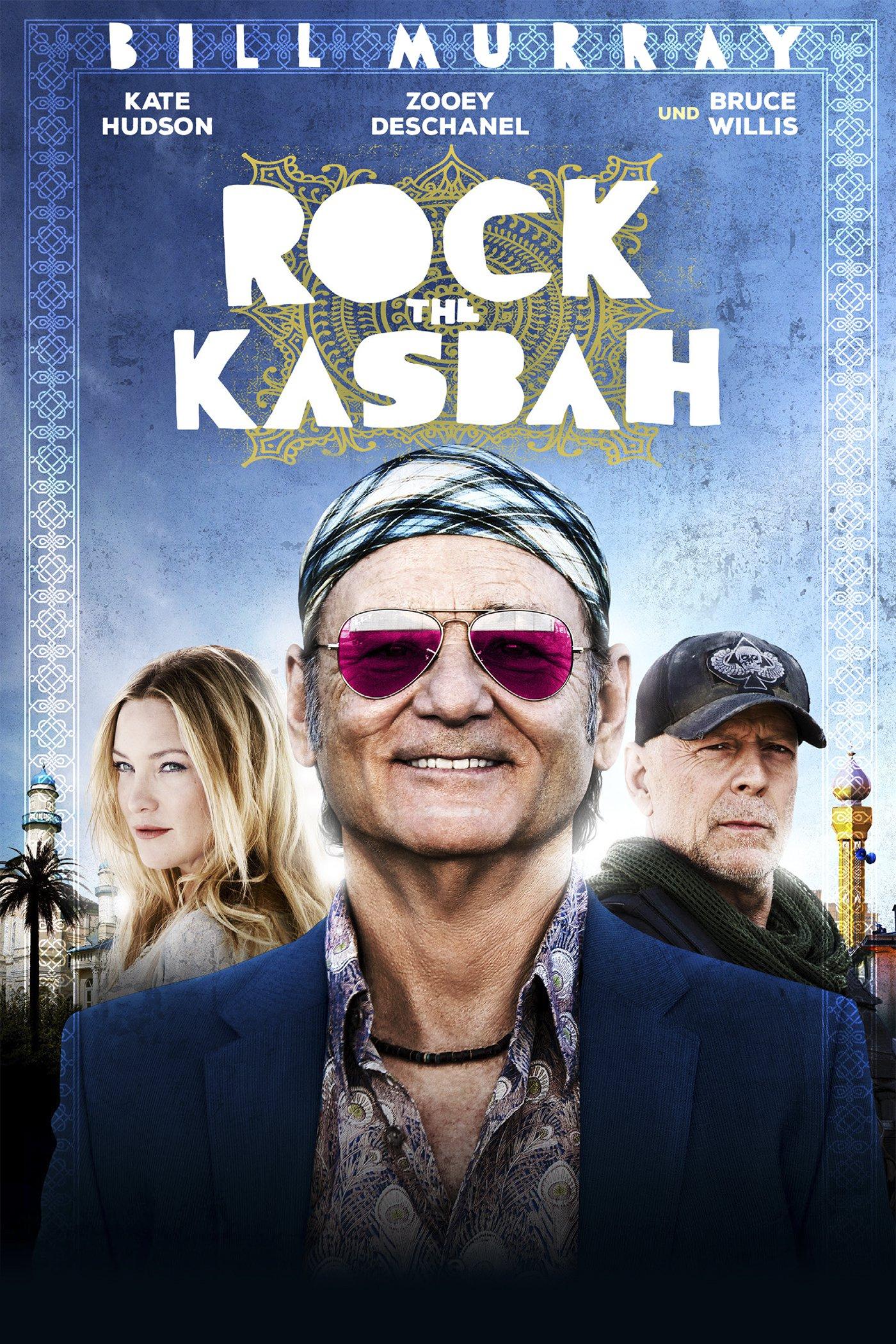 """Plakat von """"Rock the Kasbah"""""""