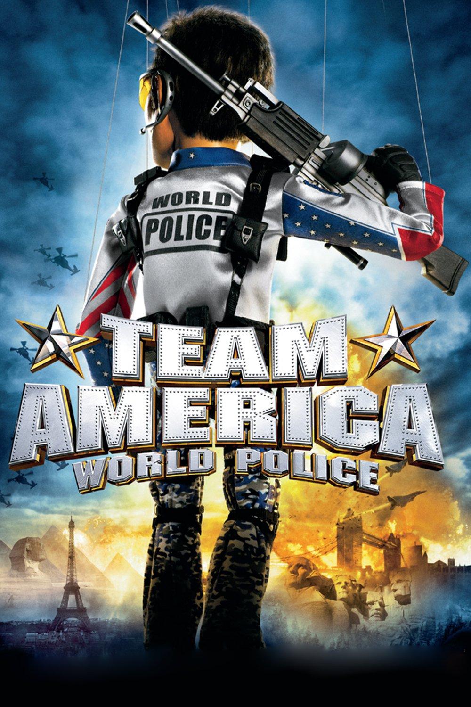 """Plakat von """"Team America: World Police"""""""