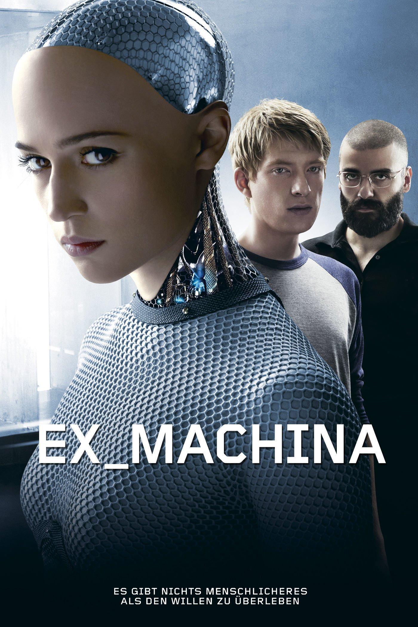 """Plakat von """"Ex Machina"""""""