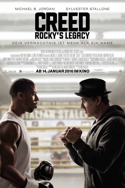 "Plakat von ""Creed - Rocky's Legacy"""