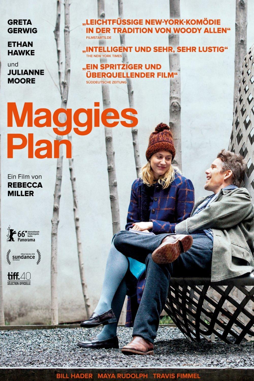 """Plakat von """"Maggie's Plan"""""""