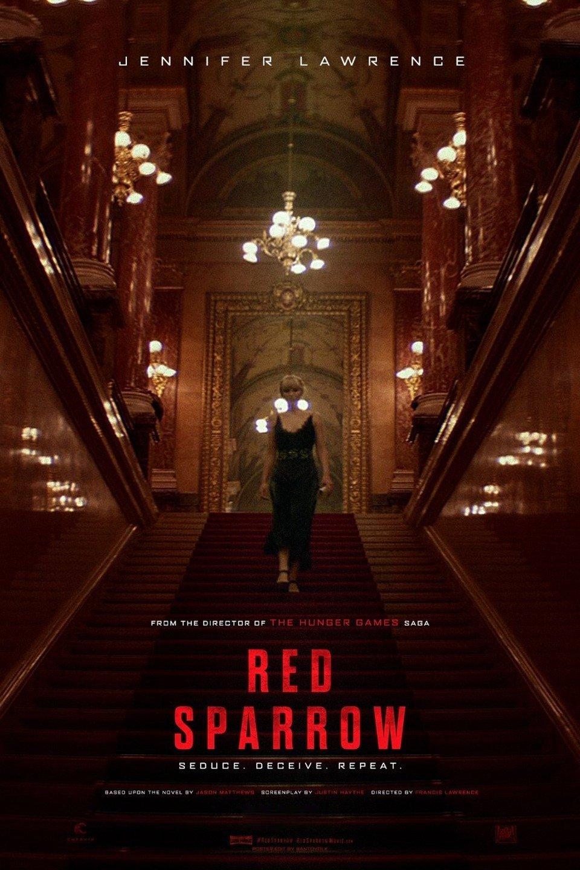 """Plakat von """"Red Sparrow"""""""