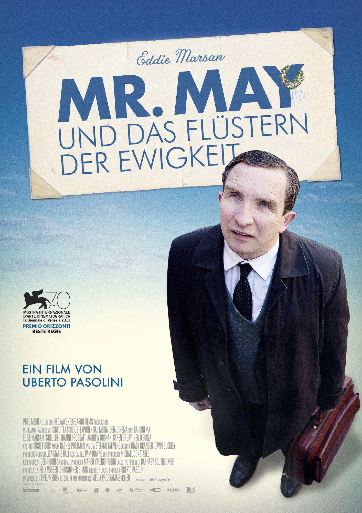 """Plakat von """"Mr. May und das Flüstern der Ewigkeit"""""""