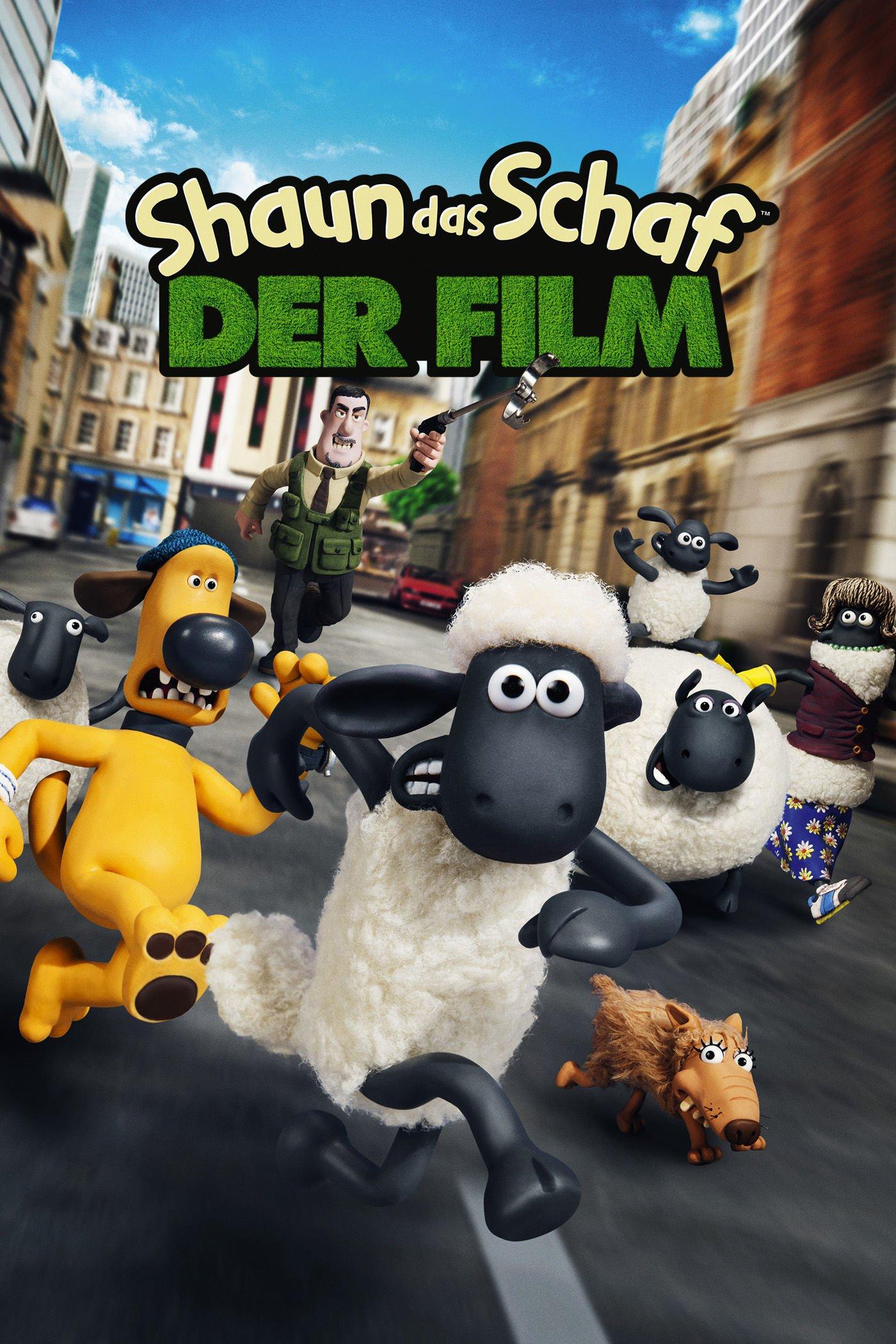 """Plakat von """"Shaun das Schaf - Der Film"""""""