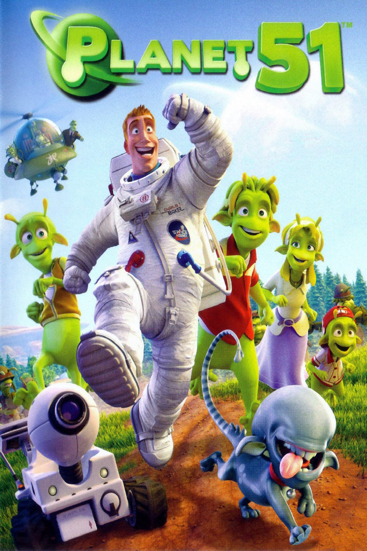 """Plakat von """"Planet 51"""""""