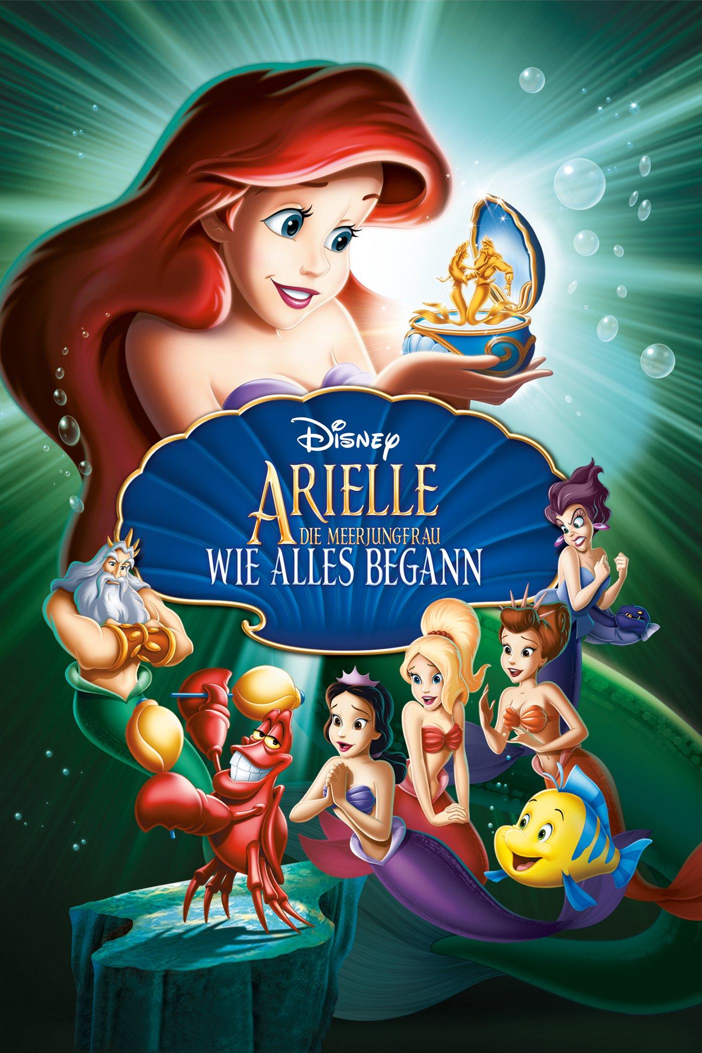 """Plakat von """"Arielle, die Meerjungfrau - Wie alles begann"""""""