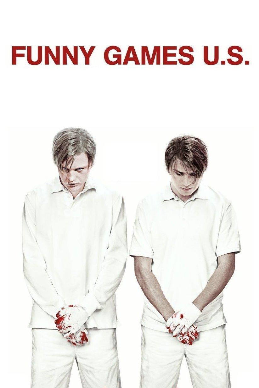 "Plakat von ""Funny Games U.S."""