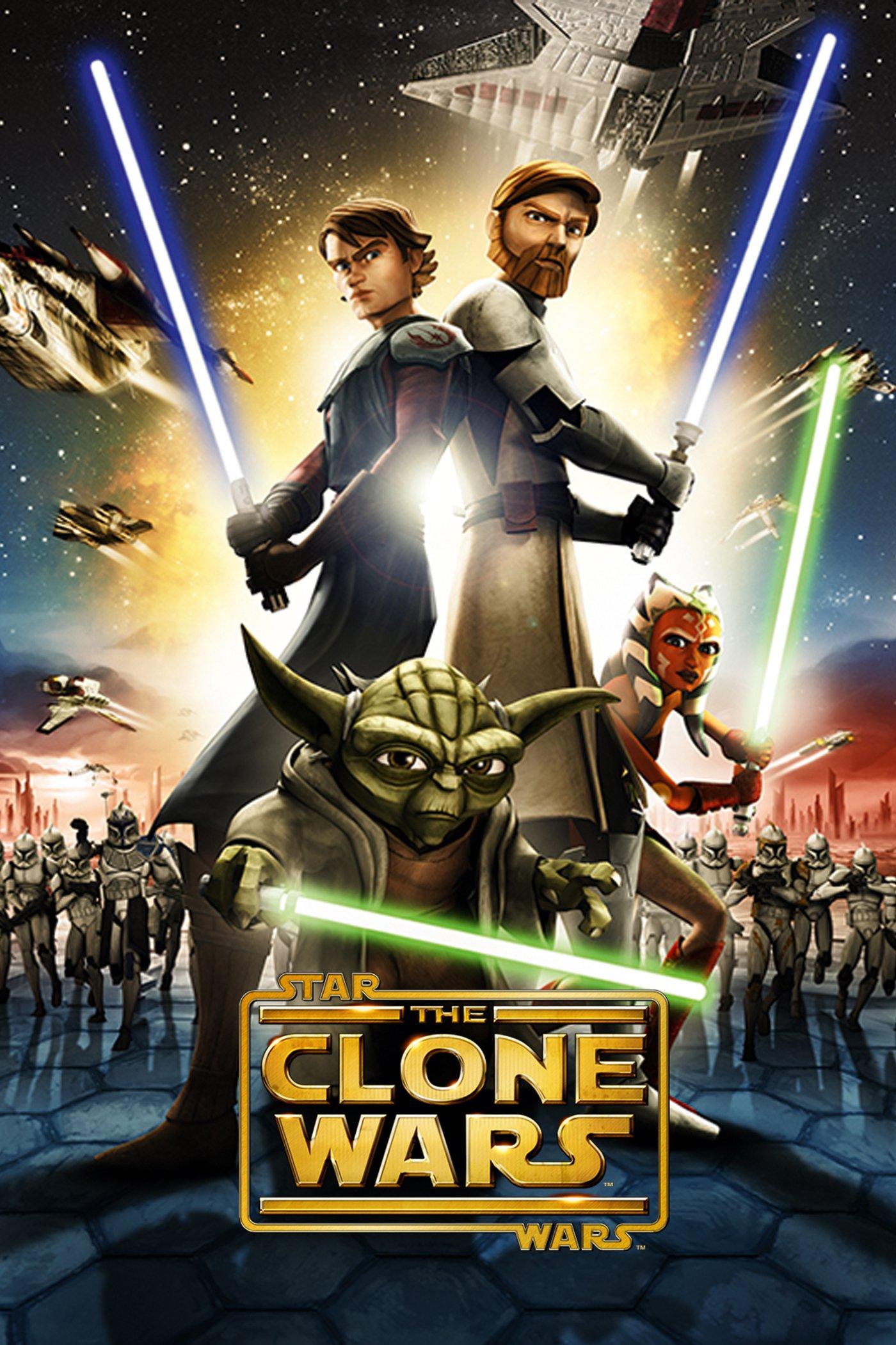 """Plakat von """"Star Wars: The Clone Wars"""""""