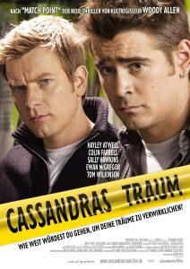 """Plakat von """"Cassandras Traum"""""""