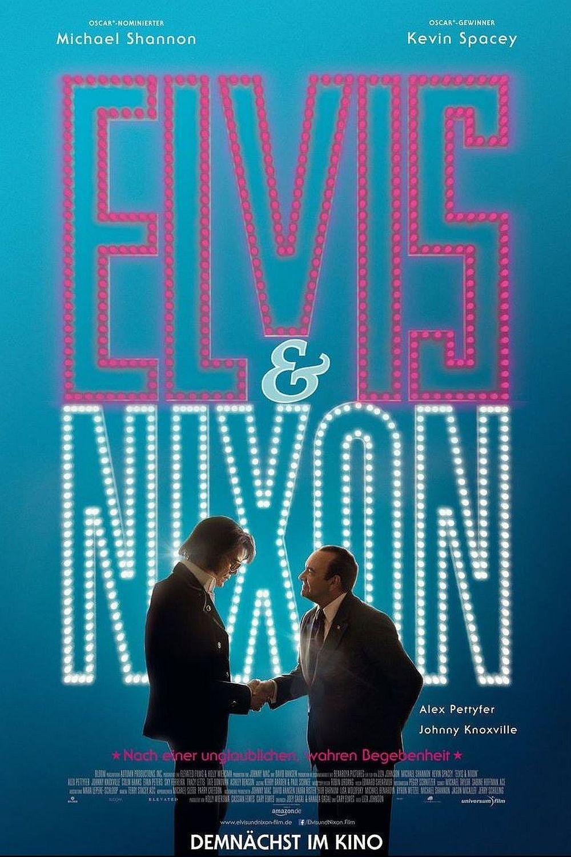 """Plakat von """"Elvis & Nixon"""""""