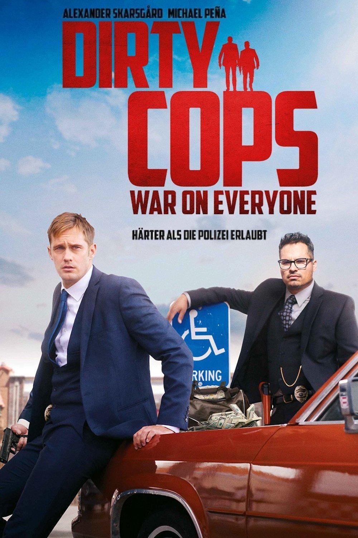 "Plakat von ""Dirty Cops - War on Everyone"""