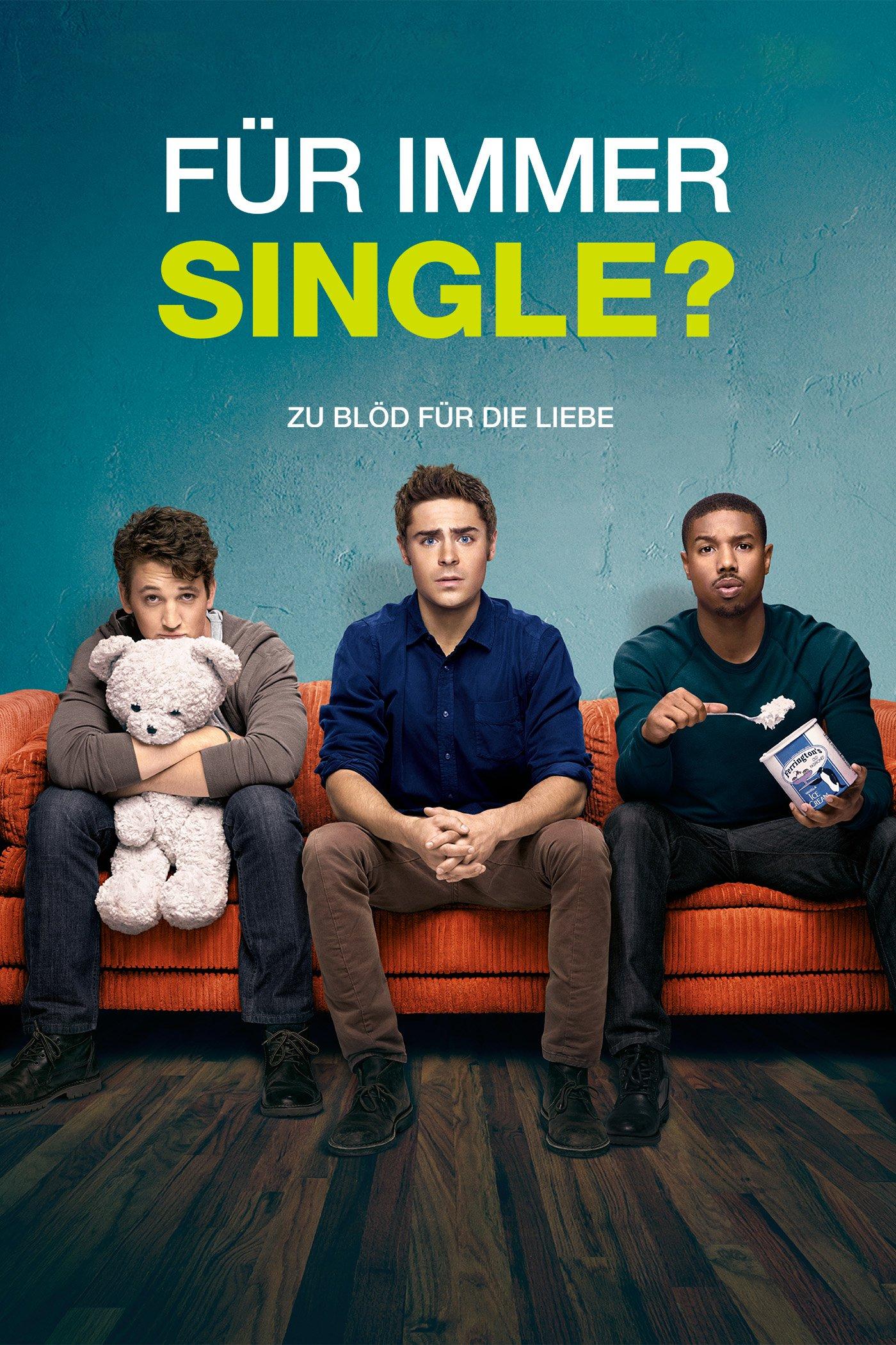 """Plakat von """"Für immer Single?"""""""