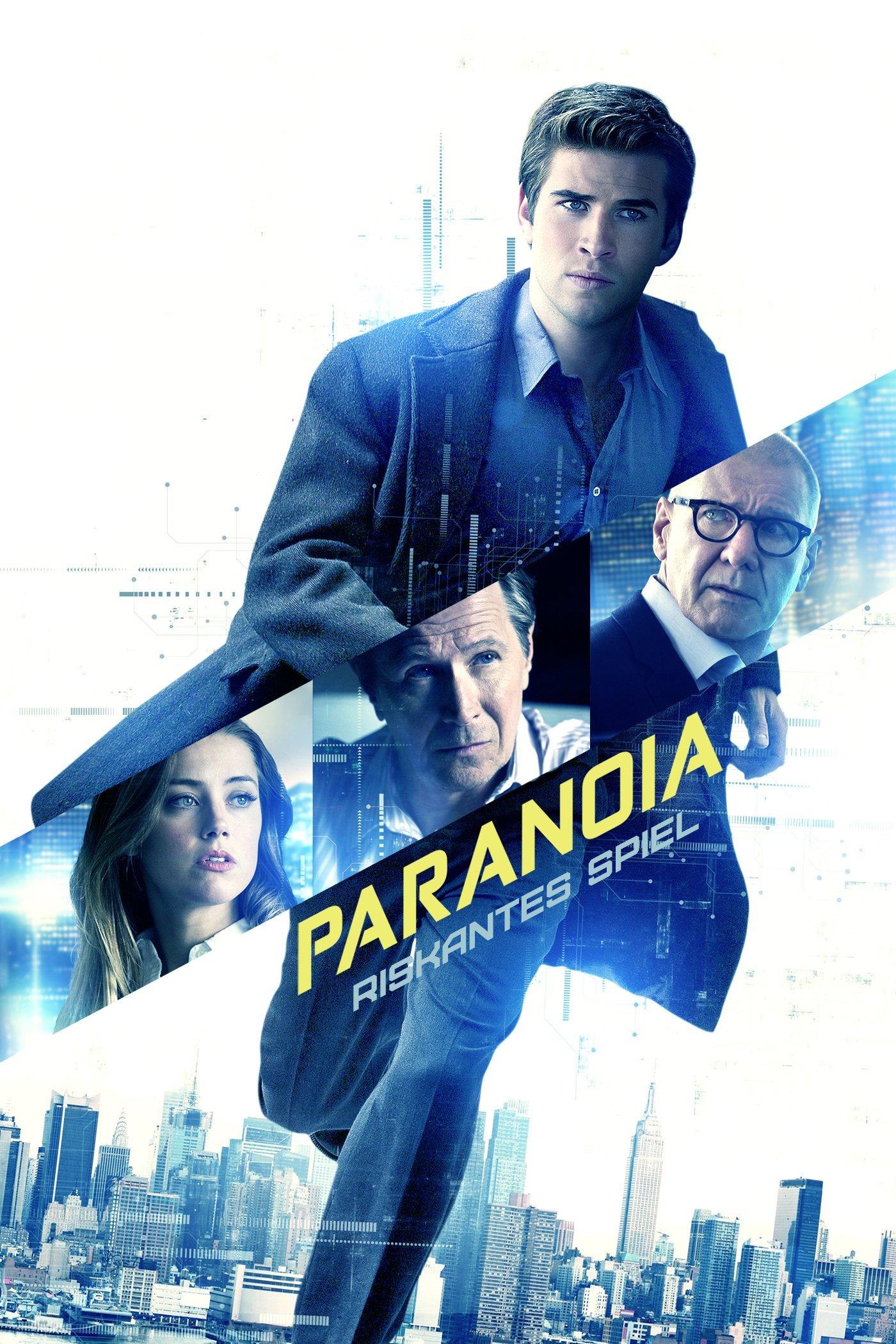 "Plakat von ""Paranoia - Riskantes Spiel"""