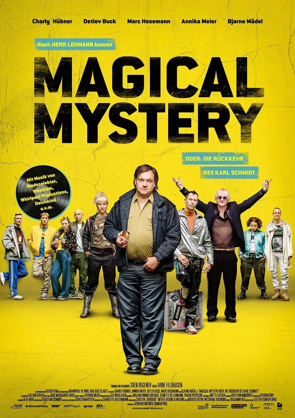 """Plakat von """"Magical Mystery oder die Rückkehr des Karl Schmidt"""""""