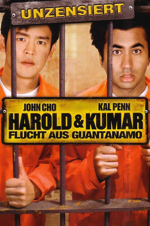 "Plakat von ""Harold & Kumar 2 - Flucht aus Guantanamo"""