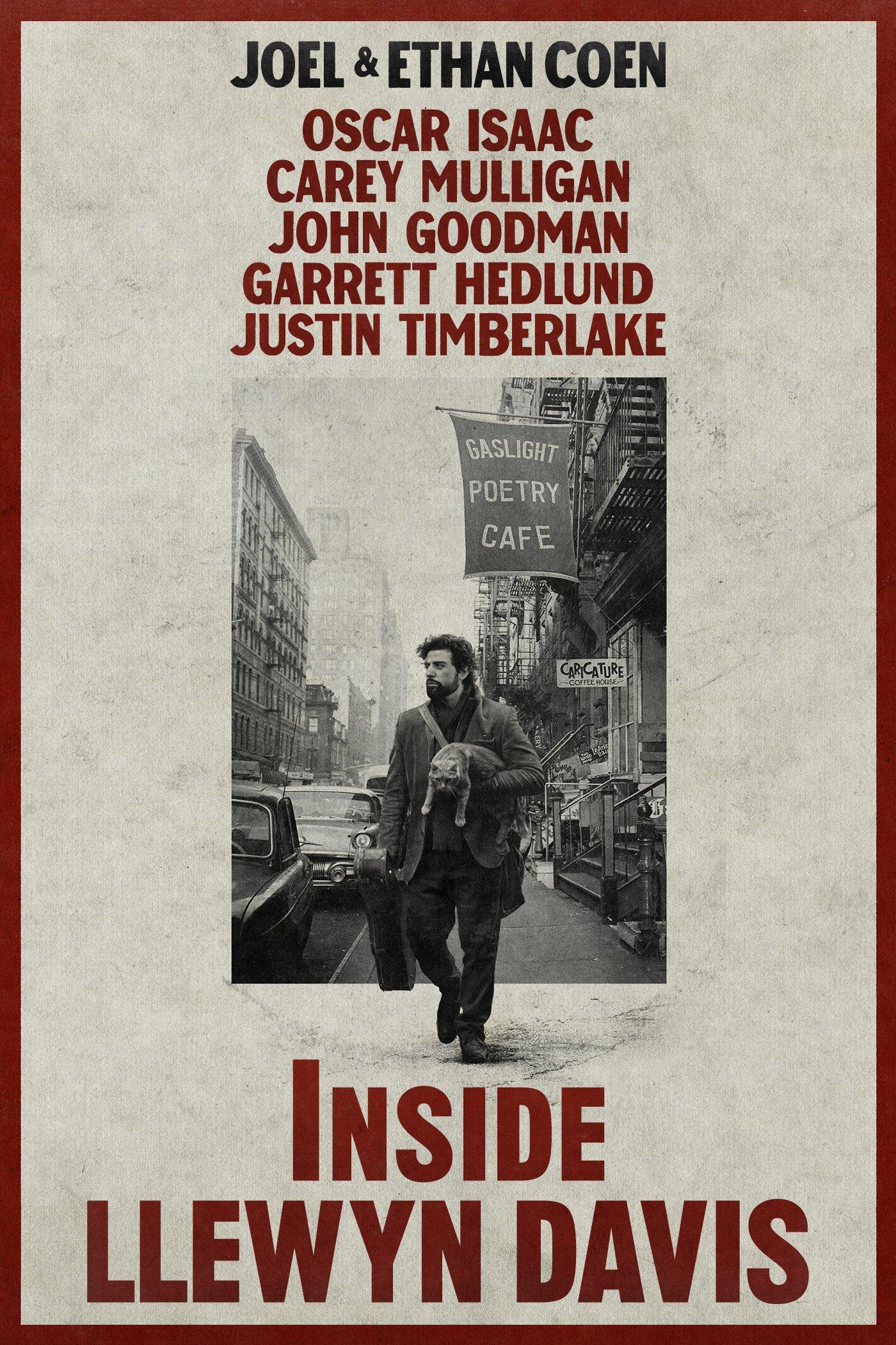 """Plakat von """"Inside Llewyn Davis"""""""