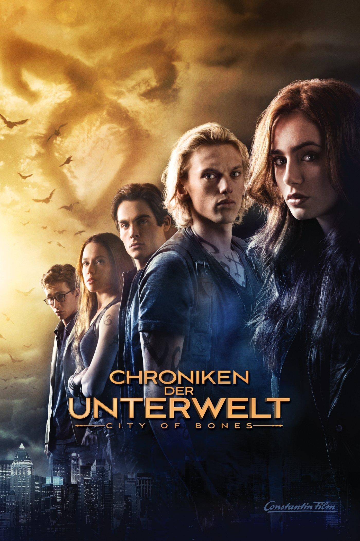 """Plakat von """"Chroniken der Unterwelt - City of Bones"""""""