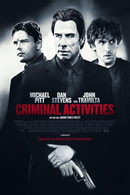 """Plakat von """"Criminal Activities"""""""