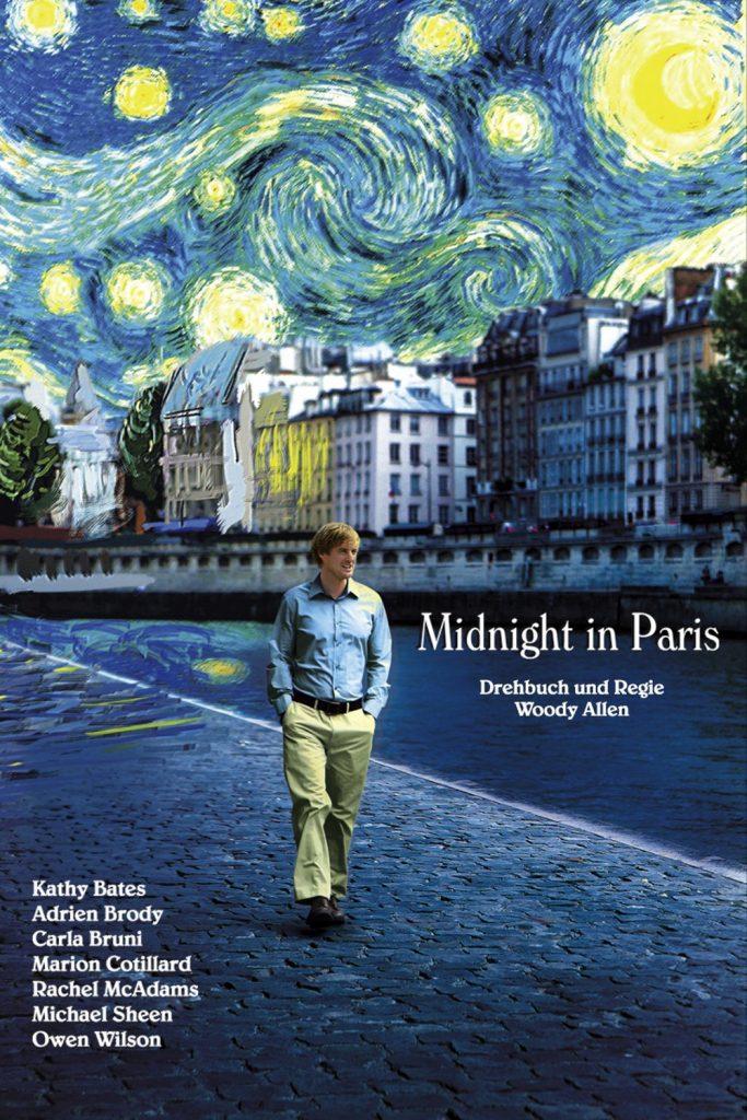 """Plakat von """"Midnight in Paris"""""""