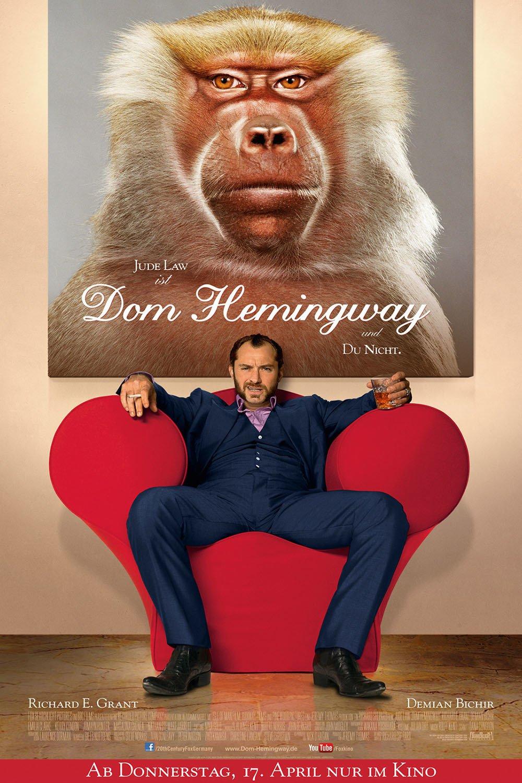 """Plakat von """"Dom Hemingway"""""""