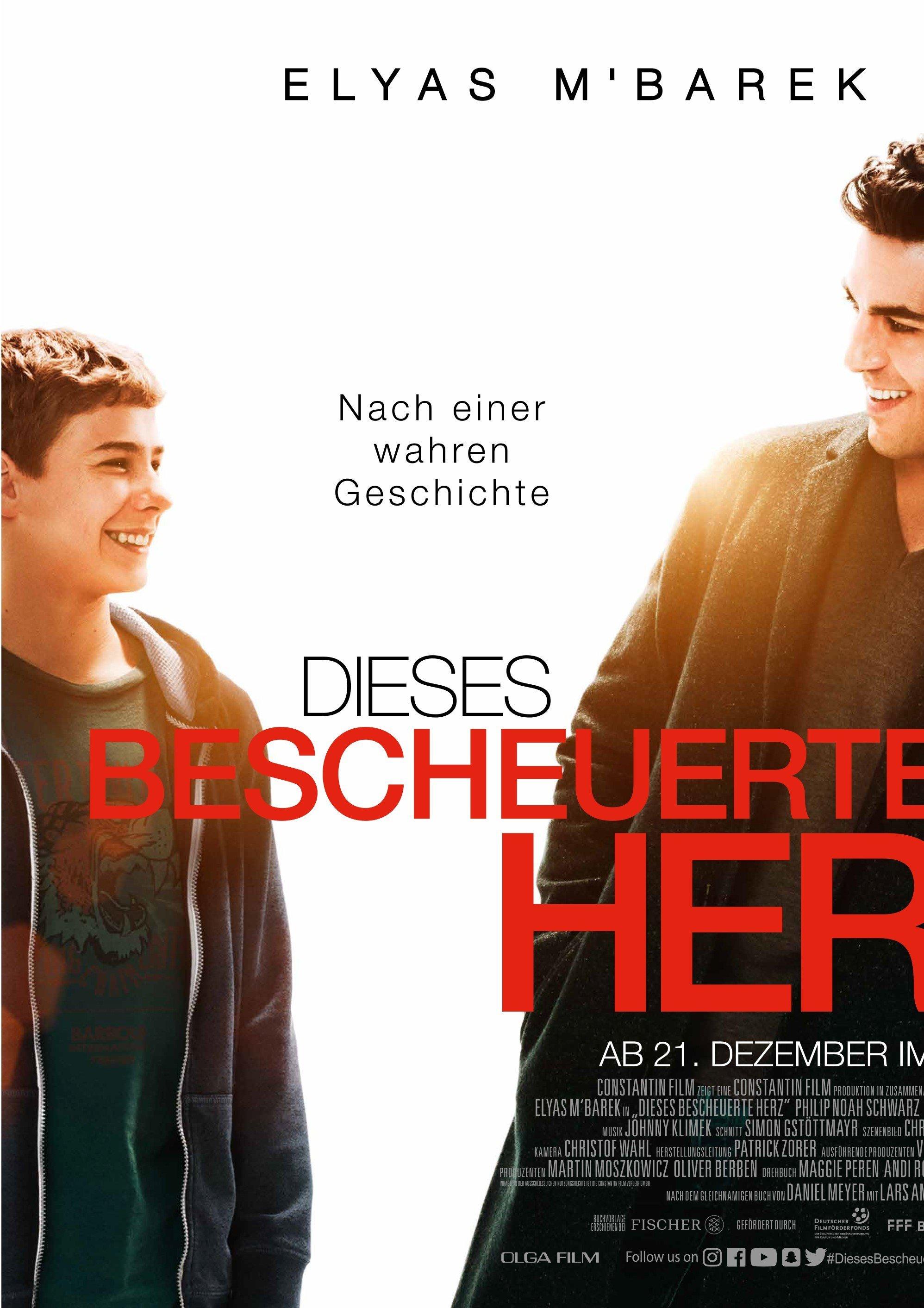 """Plakat von """"Dieses bescheuerte Herz"""""""