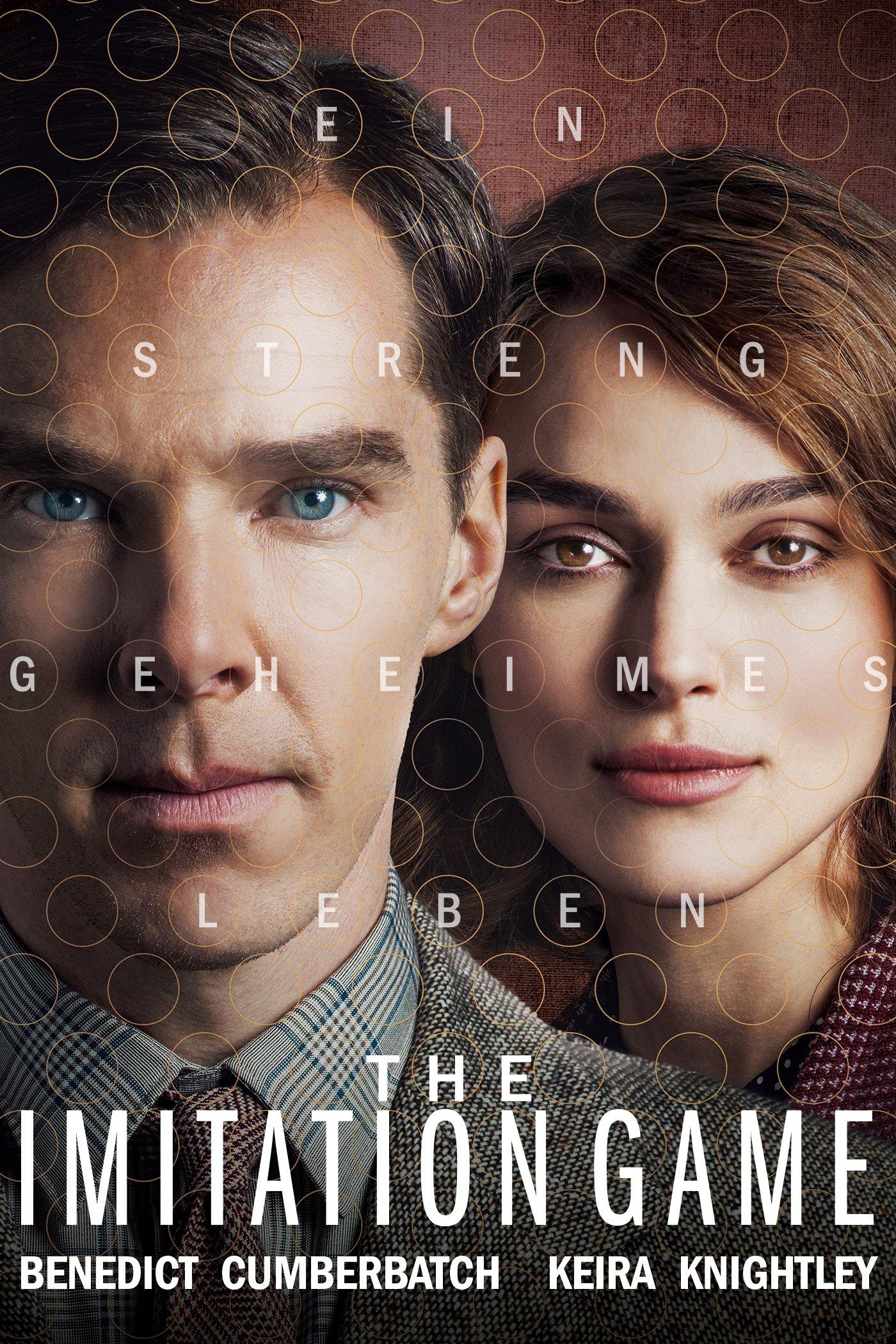 """Plakat von """"The Imitation Game - Ein streng geheimes Leben"""""""