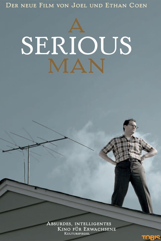 "Plakat von ""A Serious Man"""