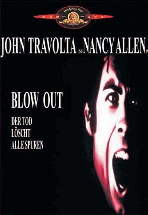 """Plakat von """"Blow Out – Der Tod löscht alle Spuren"""""""