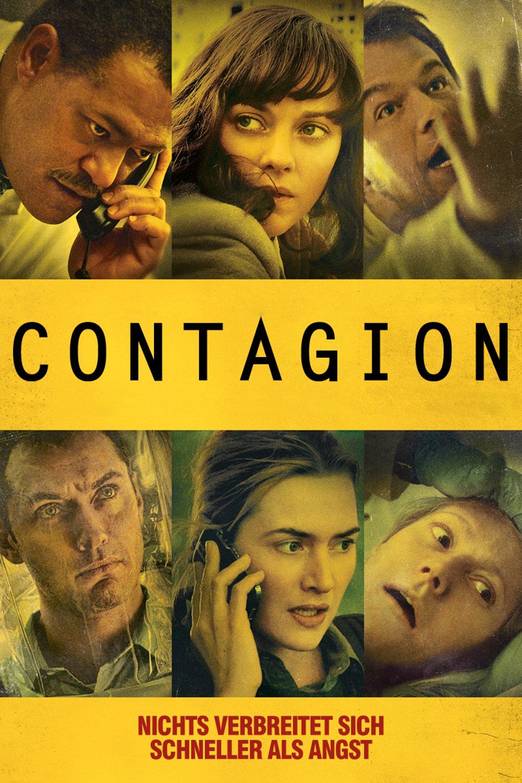 """Plakat von """"Contagion"""""""