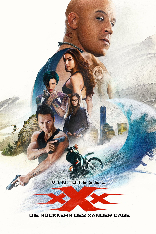 """Plakat von """"xXx - Die Rückkehr des Xander Cage"""""""