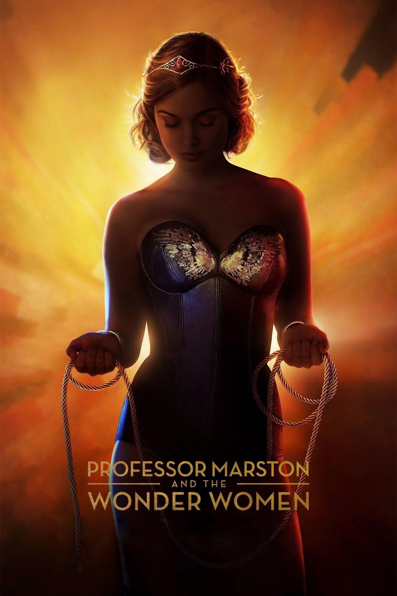 """Plakat von """"Professor Marston & The Wonder Women"""""""