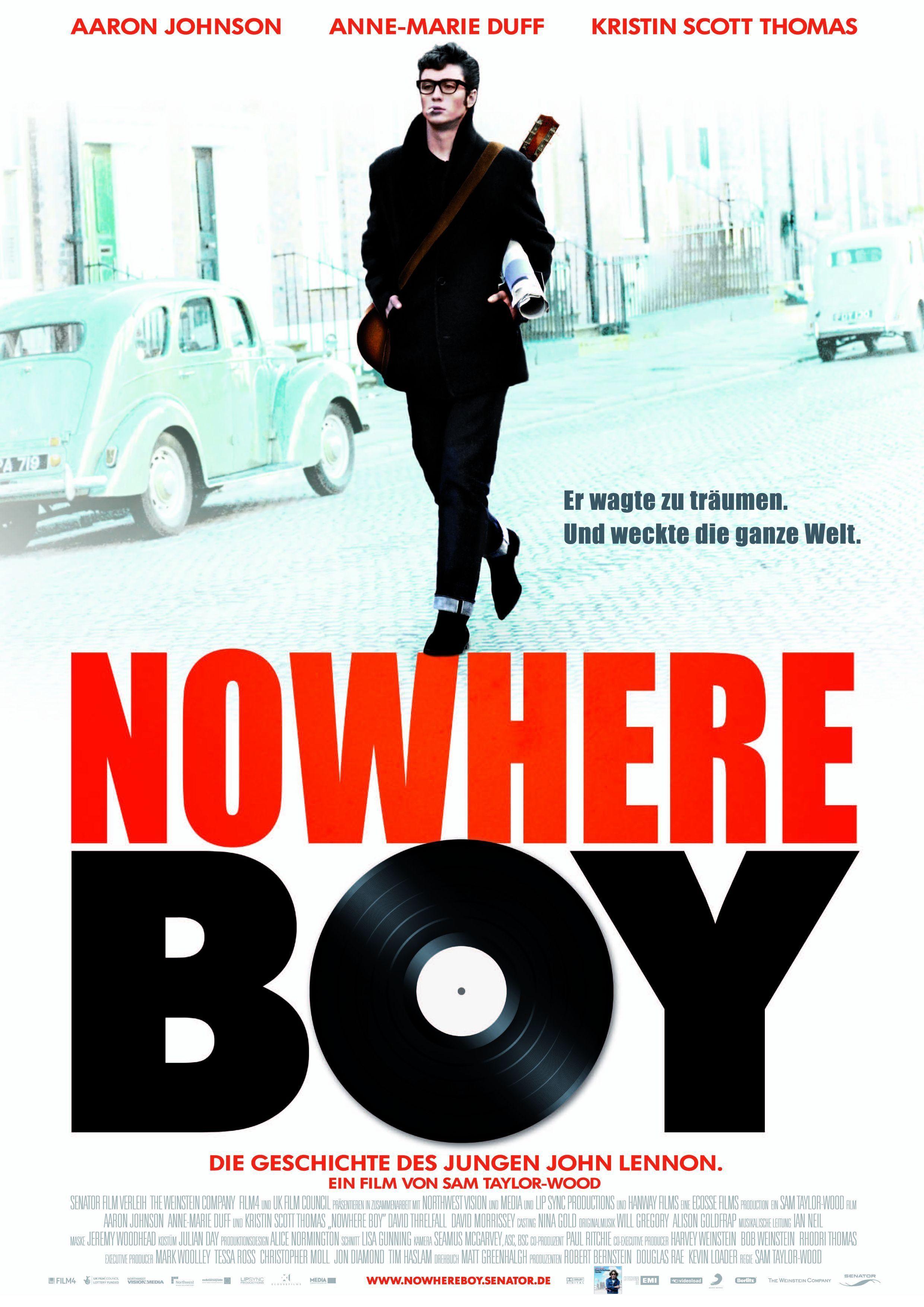 """Plakat von """"Nowhere Boy"""""""