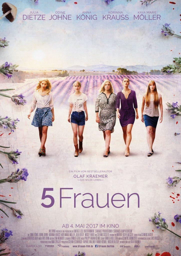 """Plakat von """"5 Frauen"""""""