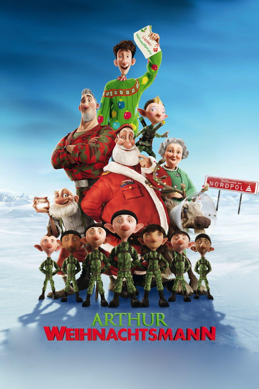 """Plakat von """"Arthur Weihnachtsmann"""""""