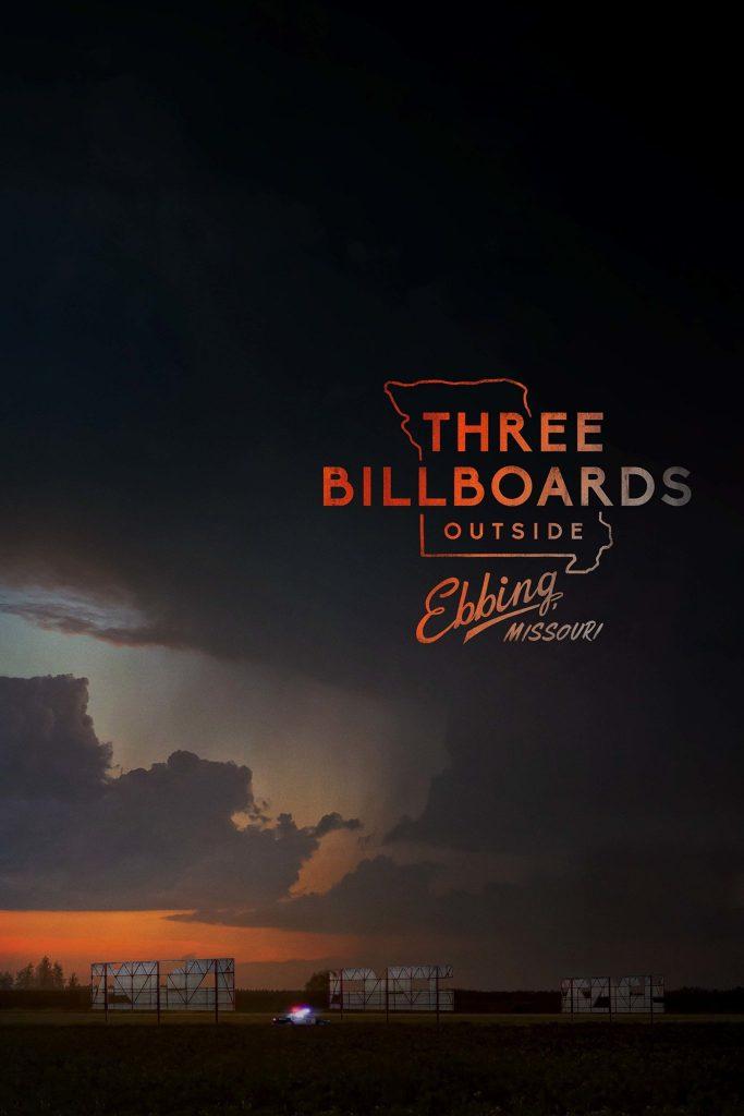 """Plakat von """"Three Billboards Outside Ebbing, Missouri"""""""