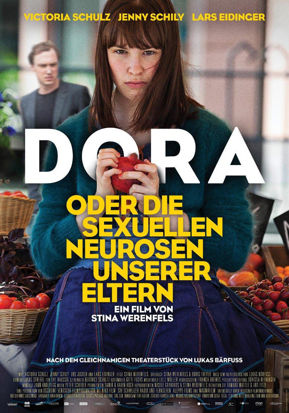 """Plakat von """"Dora oder Die sexuellen Neurosen unserer Eltern"""""""