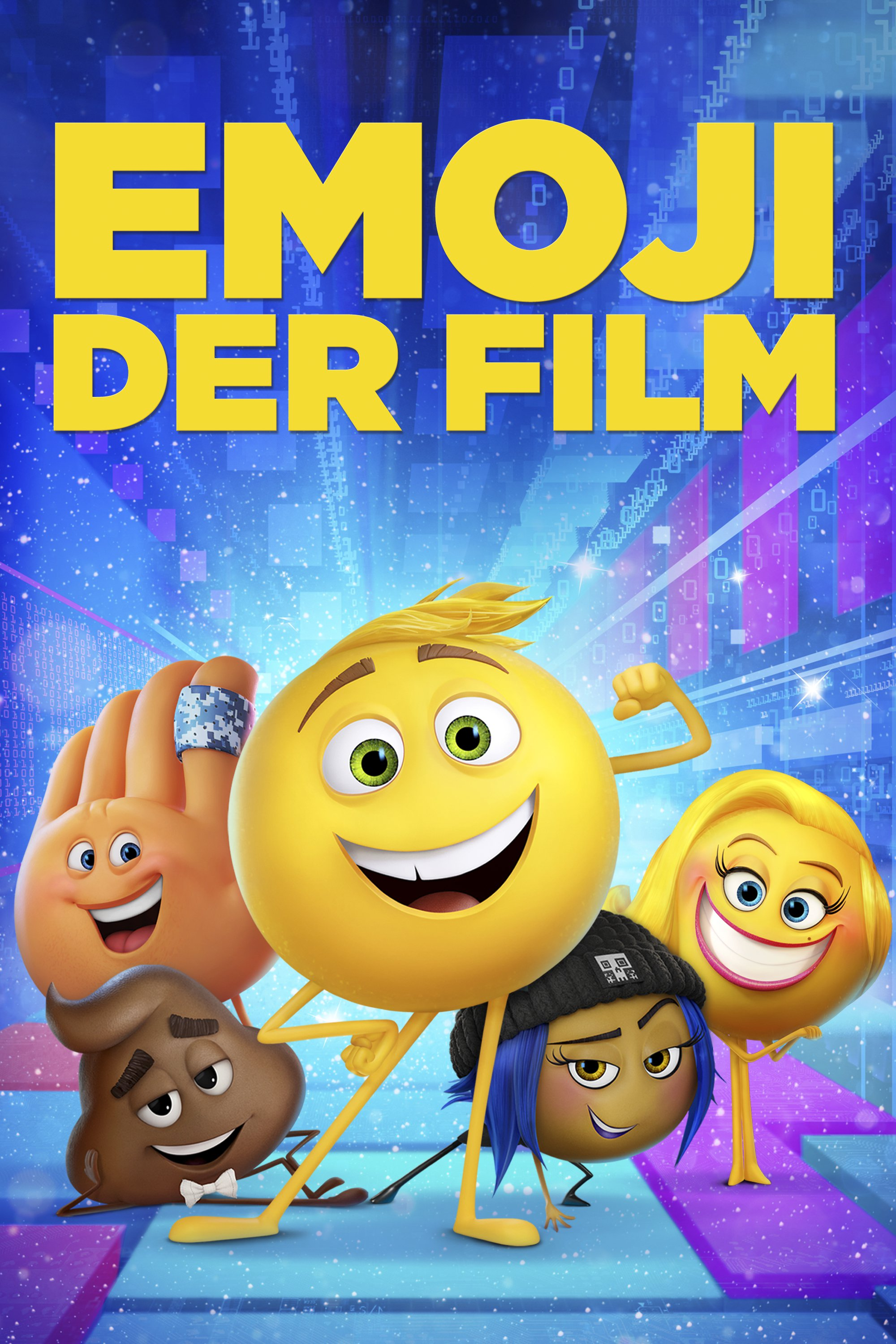 "Plakat von ""The Emoji Movie"""