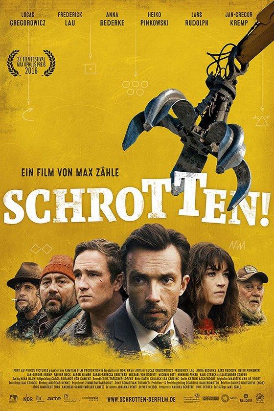 """Plakat von """"Schrotten!"""""""