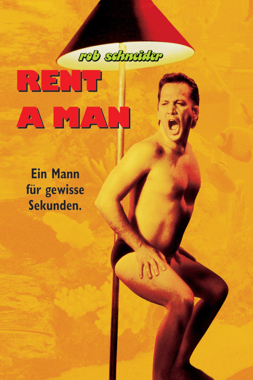 """Plakat von """"Rent a Man - Ein Mann für gewisse Sekunden"""""""